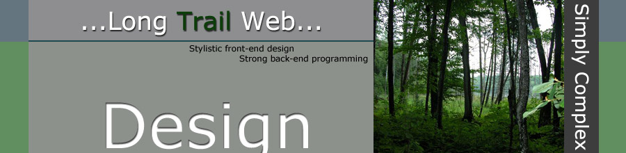 Long Trail Web Design Header